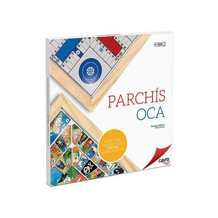 Parcheesi And Goose Board With Frame And Glass